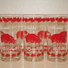 Arkansas Razorback Drinking Glasses