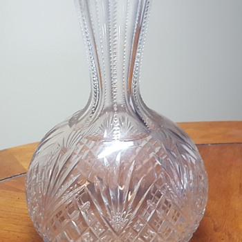 American Brilliant Cut Glass Decanter