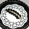 Vintage Feather Shape Brooch