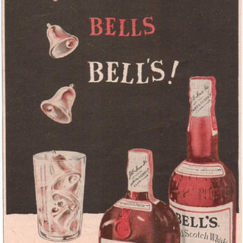 1954 Bell's Scotch Advertisement - Advertising