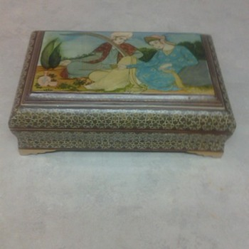 INDIA MARQUETRY BOX - Folk Art