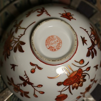 Japanese Porcelain Ware - Decorated in Hong Kong - Asian