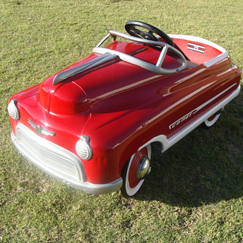 1950 Murray Comet Jet Drive Pedal Car!