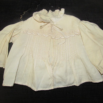 Hand Stitched Vintage Baby Jacket (part 1 of 4 vintage clothes) - Victorian Era