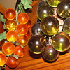 Vintage Green Lucite Grape Cluster