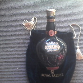 "Royal Salute "" The Emerald Flagon"""