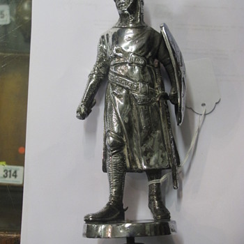 Knight Mascot  with patent Morris Brand 