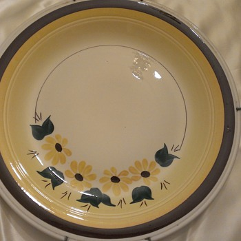 Brown Eyed Susan serving platter
