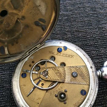 Same as Lincolns Hunter case pocket watch
