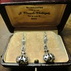 Ladybug Sterling silver earrings in original box.