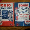 1933 SOHIO PETROLEUM PUZZLES