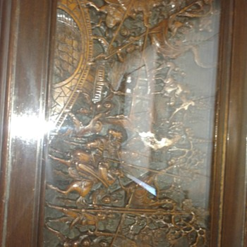 Carved Chinese Table 1954