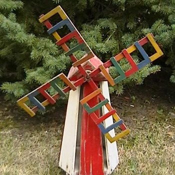 1940&#039;s Windmill Whirligig