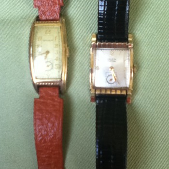 1930s & 1940s Gruen Watches - Wristwatches