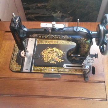 NEW HOME 1906 usa sewing machine,distributed by pinnock queen elizabeth building sydney nsw - Sewing