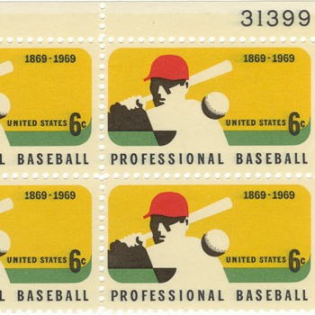 Baseball commemorative stamps - Baseball