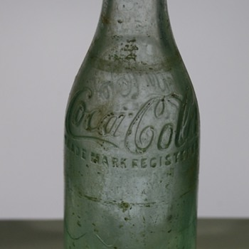 Vintage Coca Cola Bottle, Moultrie CA