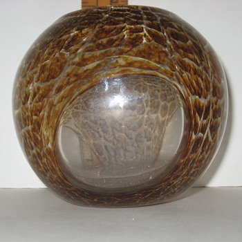 Hand Blown Glass Piece - Art Glass