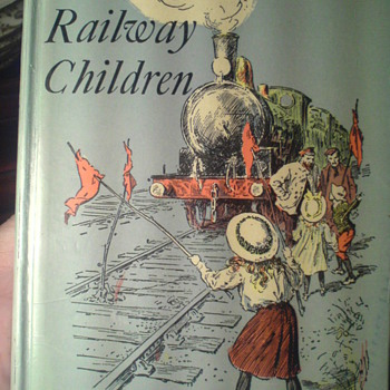 The Railway Children,by E. Nesbit, A Puffin Book, one of my favoutite old books. - Books