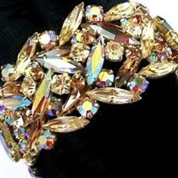 Rare Find! Sherman Bracelet - Costume Jewelry