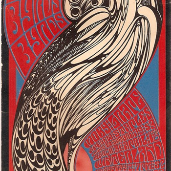 Byrds Byrds Byrds poster and postcard, 1967 - Posters and Prints