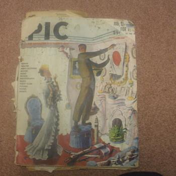 PIC magazine - Books