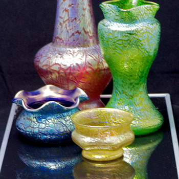Colors ... and Mimosa - Art Glass