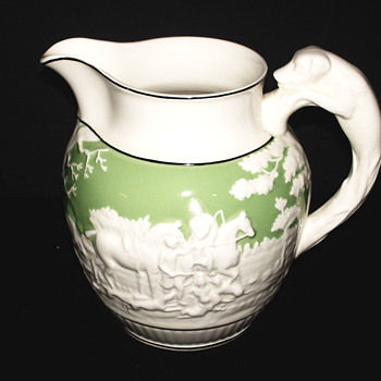 "Wedgwood Milk Pot""Nice Hunting Scene"""