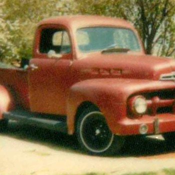 1950's Ford Truck - Classic Cars
