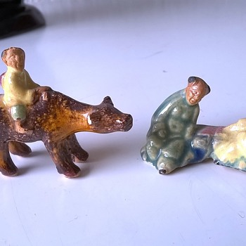 Teeny Tiny Oriental Figures  - Asian