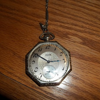 Elgin watch, unknown yr . - Pocket Watches