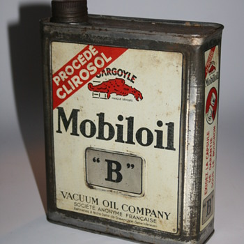 mobiloil oil can