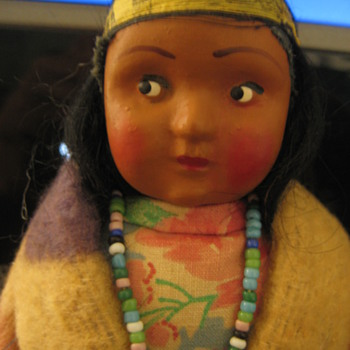 Vintage Indian Doll - Dolls