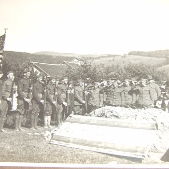 "Photograph ""A Great War Veteran is laid to rest"" Part II - Military and Wartime"