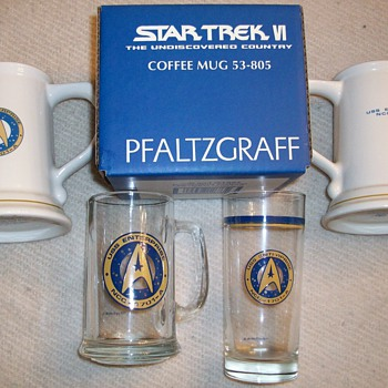 Star Trek Glassware Collection