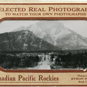 "Souvenir photos of the ""Canadian Pacific Rockies"""