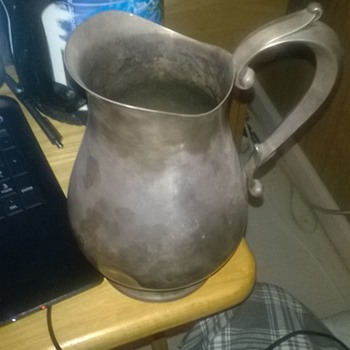 reed & Barton 1807 jamestown sterling silver pitcher  - Sterling Silver