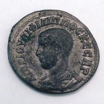 Roman: Philip II Caesar - Tetradrachm of Antioch, Syria.  - World Coins