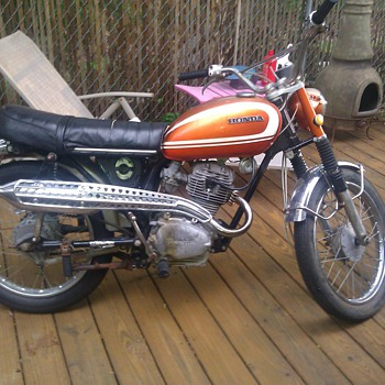 1971 honda cl100 - Motorcycles