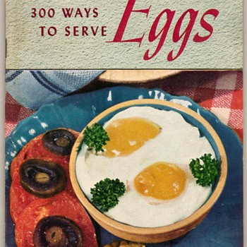 "1949 - Recipe Booklet ""Eggs"""