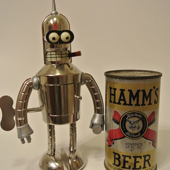 1938 HAMM'S BEER Can w/Opening Instructions...Presented by my Buddy Bender:)