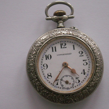 Langendorf Watch - Pocket Watches
