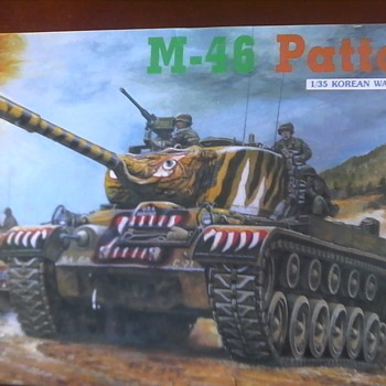 M 46 Patton 1/35 Scale Model - Model Cars