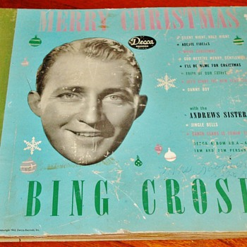 """Merry Christmas"" by Bing Crosby - Records"