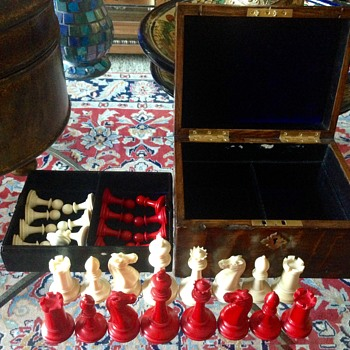 Tiffany & Co. Ivory Chess Mates