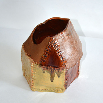 Studio Pottery -Vase/Container?? - Art Pottery