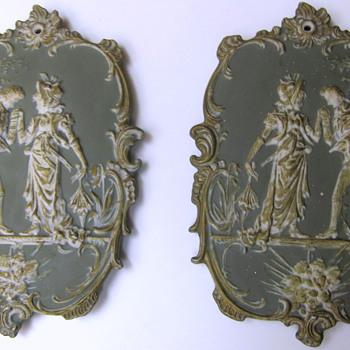 Ceramic Wall Plates Kerr? - Art Pottery