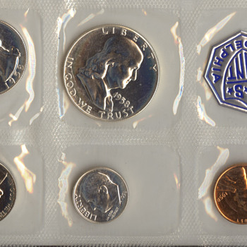 1956 US Mint Proof Set - US Coins
