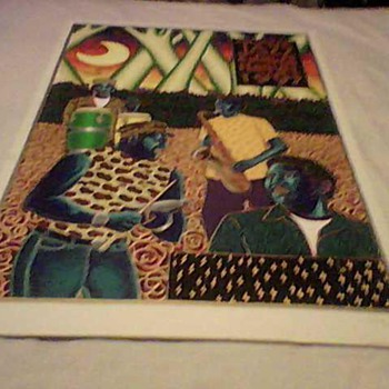 NEVILLE BROTHERS NEW ORLEANS JAZZ FESTIVAL 1997 ARTWORK - Posters and Prints