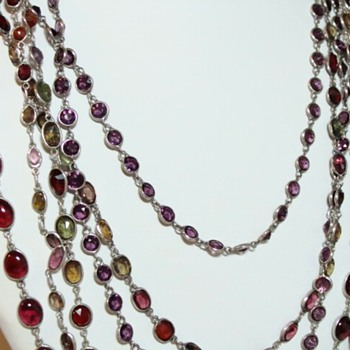 Multi Strand Multi Stone Necklaces - Fine Jewelry